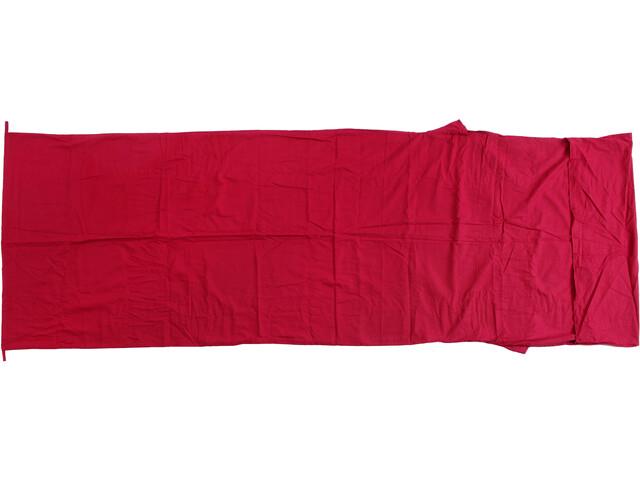 Basic Nature Katoenen binnenlaag Slaapzak isolatie dekenvorm rood